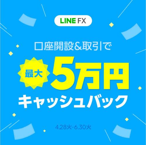 LINE証券[LINE FX]キャンペーン