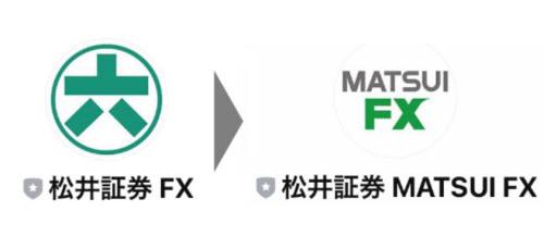 松井証券[MATSUI FX]へのリニューアル内容